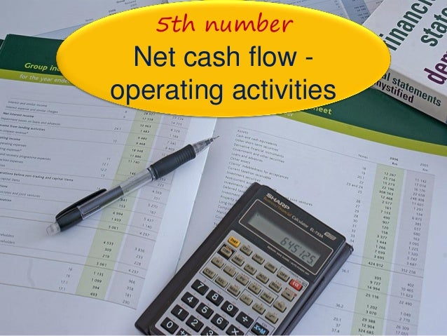 how to look at cash flow statement