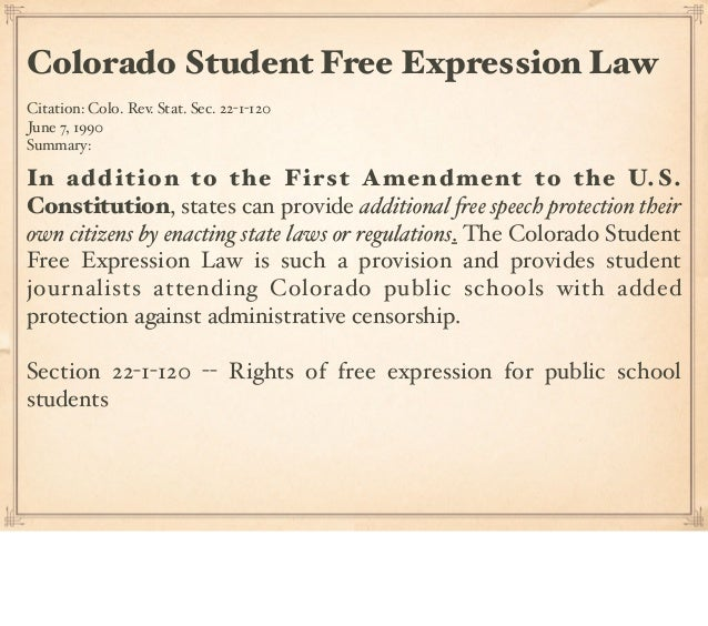 an analysis of the first amendment free of expression First amendment to the united states constitution this article is the bcra's federal restrictions on electoral advocacy by corporations or unions were unconstitutional for violating the free speech clause of the first amendment is the expression protected by the first amendment lawful.
