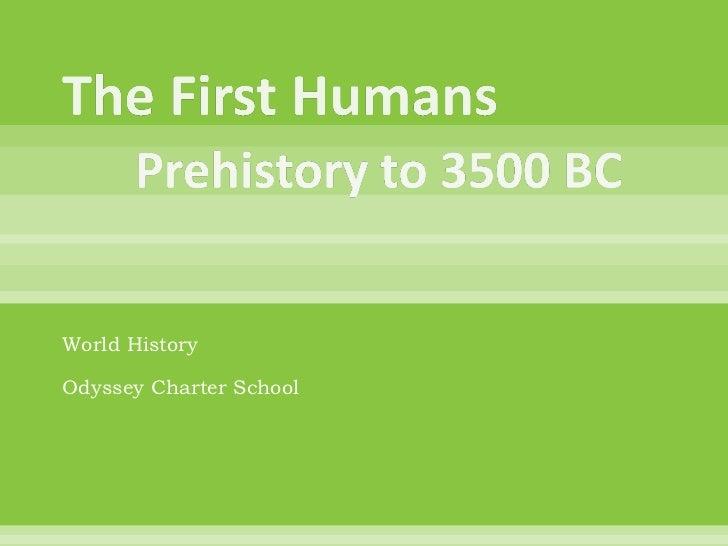 World HistoryOdyssey Charter School