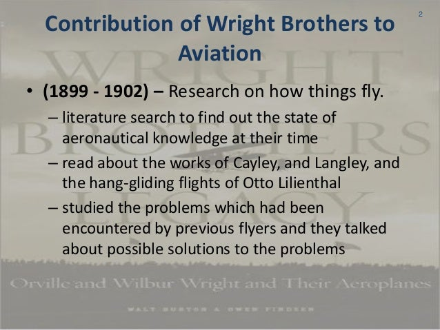 wright brothers contribution to aviation The brothers provides historical background on nasa's contributions to the century of flight the wright brothers posters: this.