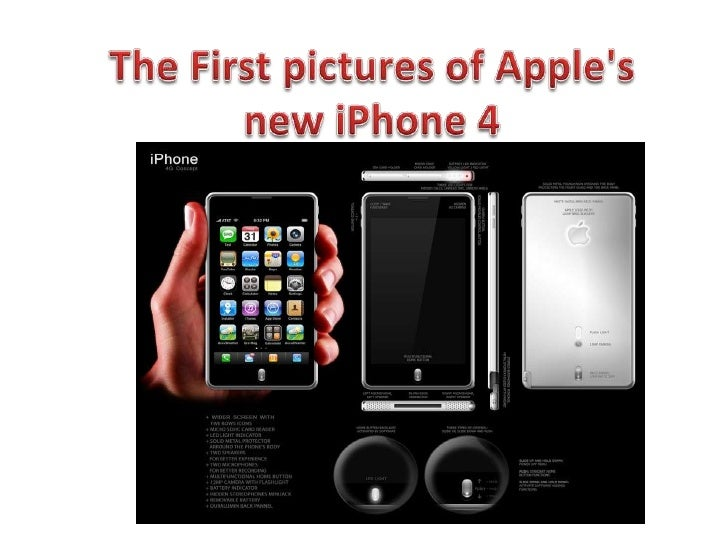 The First pictures of Apple's new iPhone 4<br />