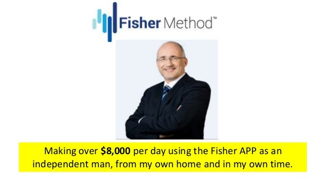 Fisher method binary trading