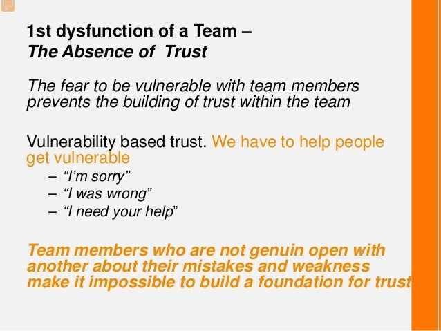 The Five Dysfunctions Of A Team 5