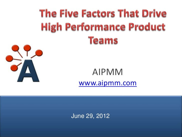 AIPMM                 www.aipmm.com               June 29, 2012© AIPMM 2012