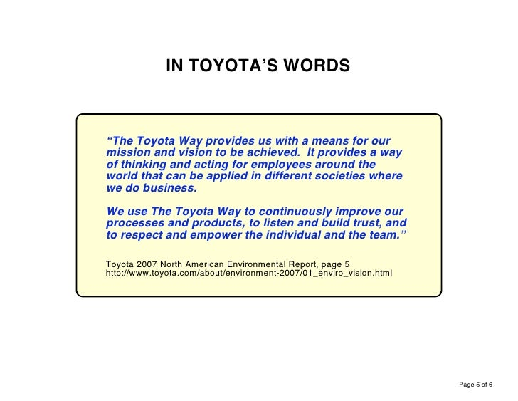 toyota internal environment A024xx10296 (internal quality audits) issue 2 internal quality audits: what they are and how to carry them out iii issue record issue date comment.