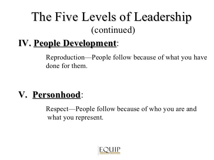 leadership law of respect how to follow it
