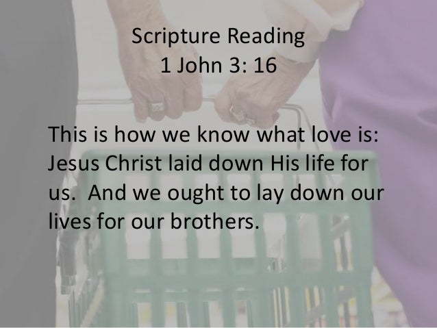 which part of the bible talks about love