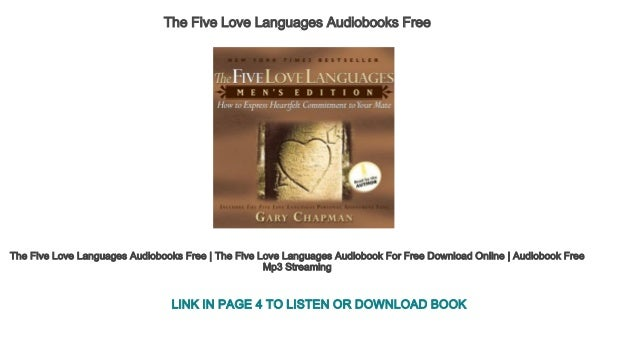 The Five Love Languages Audiobooks Free The Five Love Languages Audiobooks Free The Five Love