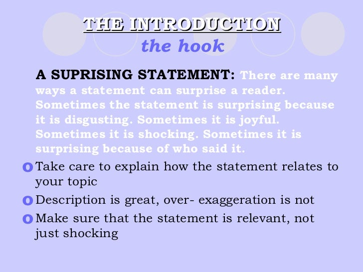 how to make five paragraph essay