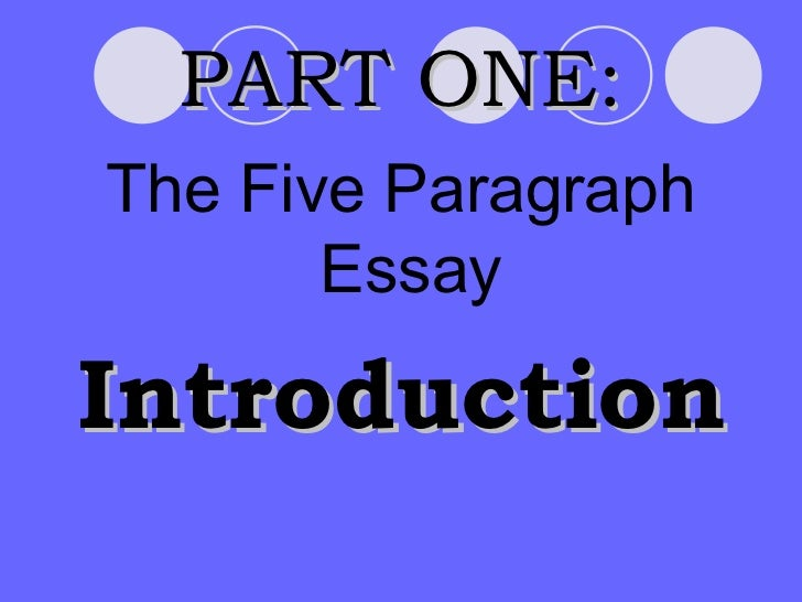 an introduction to the essay on the topic of making preparations to die Follow our literary essay writing guide  the literary essay may be about any book or any literary topic  how to write a literary analysis essay introduction.