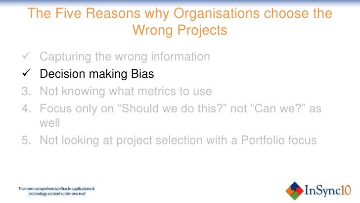 reasons for choosing the project topic Project management ensures that lessons are learned from project success and failure these reasons and many other factors are why companies employ people with project management skills if you are looking for a new career in project management, take a look at our how to become a project manager blog.