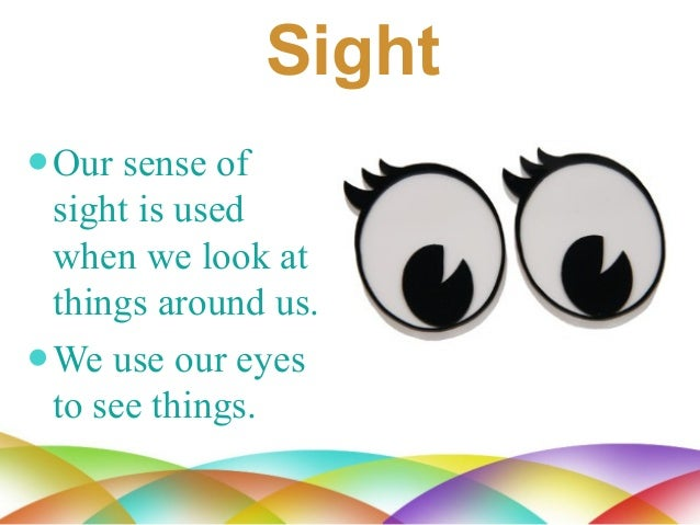 sense of sight Aristotle (384 bc - 322 bc) is credited with the traditional classification of the five sense organs: sight, smell, taste, touch, and hearing.