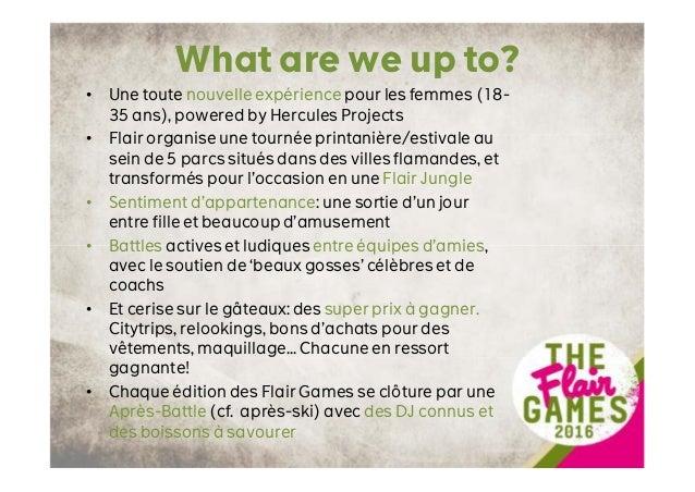 The Flair Games Partnerships (FR) Slide 3