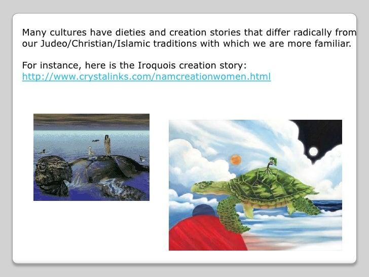 Native American vs. Biblical Creation Stories