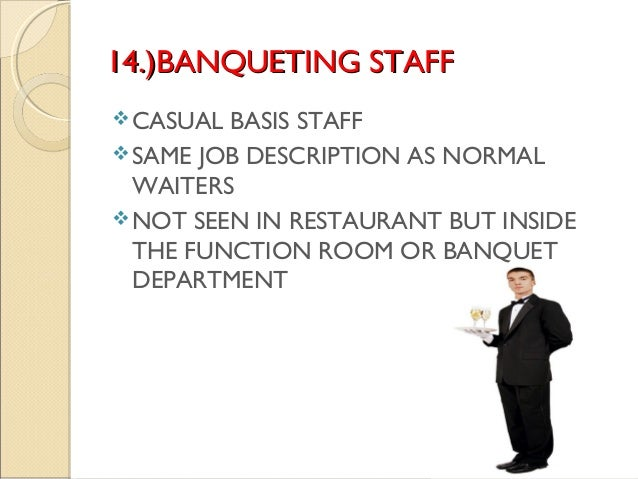 18 14 - Banquet Job Description