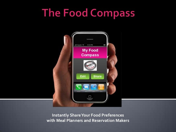 Instantly Share Your Food Preferenceswith Meal Planners and Reservation Makers