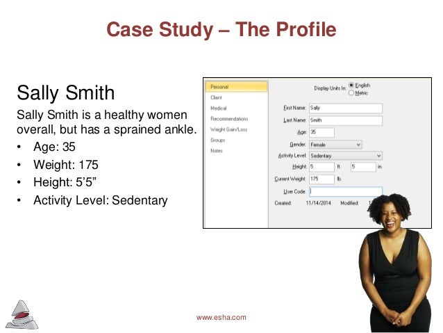 diet and exercise analysis Coral is using dnafit to learn more about her diet,  the best way to eat and exercise to achieve her goal of  the lab has completed the analysis.