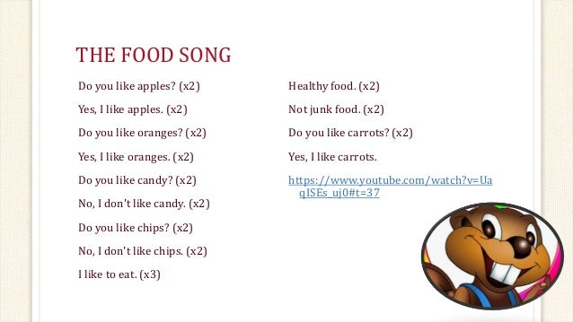 Junk Food Song