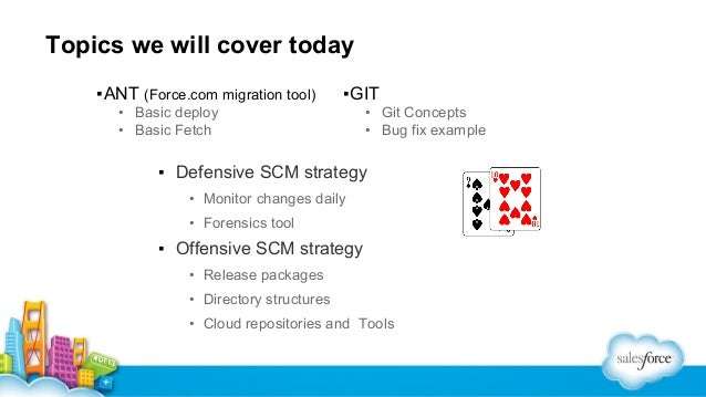 Manage Org Changes Using the Force com Migration Tool and Git