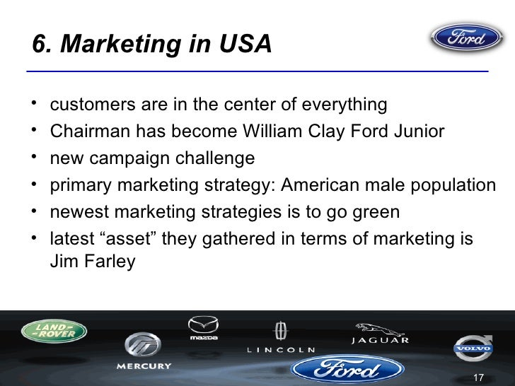 The Ford Motor Company And Its Advertisements In 3 Different Countries