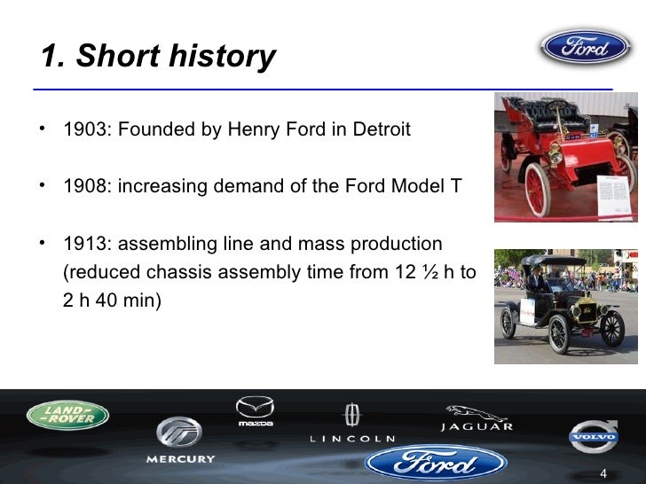 the ford motor company and its advertisements in 3
