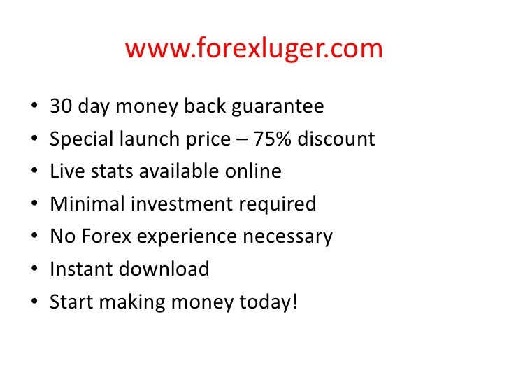Automated forex robot review