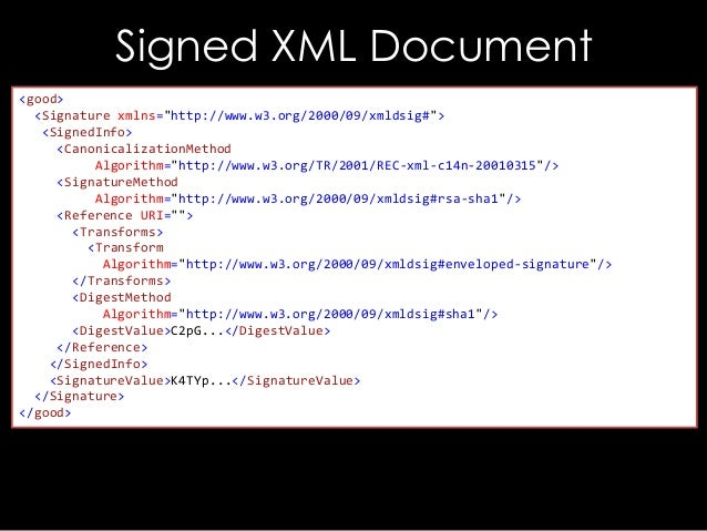 44CON 2013 - The Forger's Art: Exploiting XML Digital