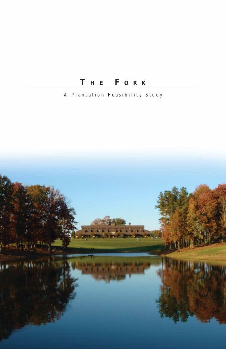 T   H E    F   O R KA Plantation Feasibility Study