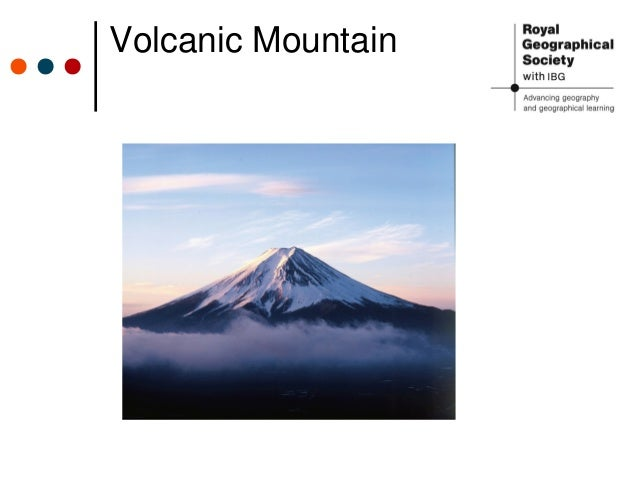 explain the formation of volcanic mountains with the help ... |Volcanic Mountains Formation