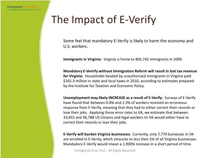 The Form I 9 Compliance and E Verify
