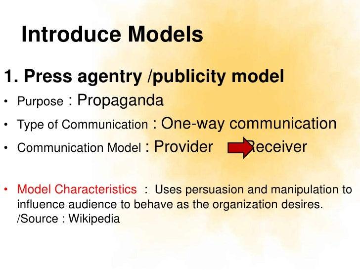 models of public relations pdf