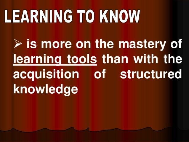 The four pillars of learning Slide 3