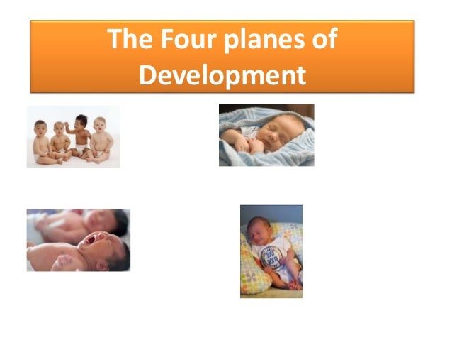 four planes of development essay The montessori method works around the waves a child learns and grows in learn about the first plane of development and how it relates to your child's growth.