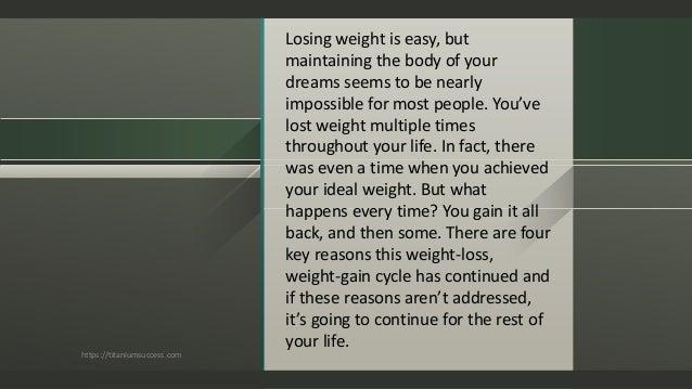 Lose fat motivation