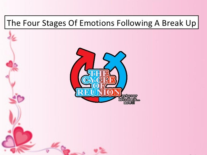 The Four Stages Of Emotions Following A Break Up