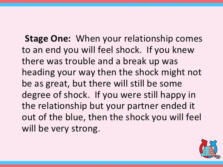 The Emotional Stages Of A Break Up