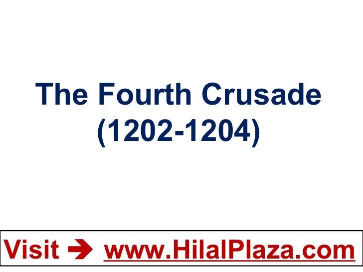 The Fourth Crusade (1202-1204)