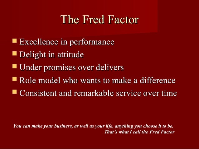 Fred Factor Book