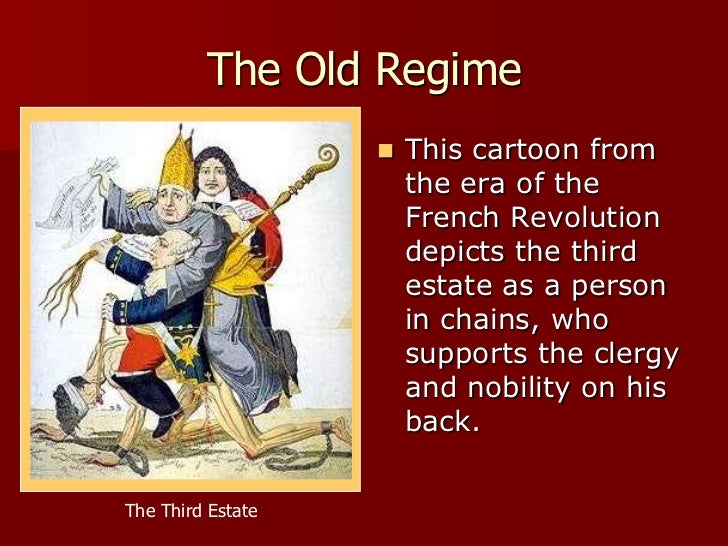 a history of the second estate and the ancient regime in france Which the origins of the french revolution have been interpreted chapter   second estate figure 12 the structure of the ancien régime c1780 the first.