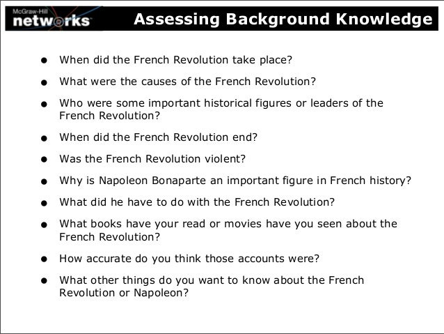 identifying the causes of the french revolution The french revolution was a major event in modern european history the causes of the french revolution were many: the monarchy's severe debt problems, high taxes, poor harvests, and the influence of new political ideas and the american revolution, to mention only a few.
