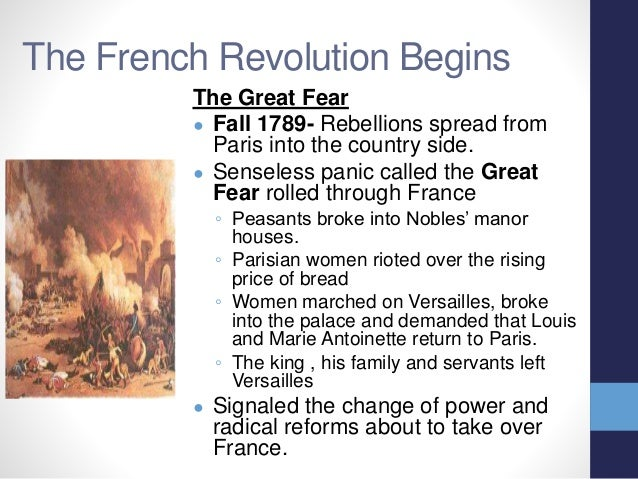an analysis of the french revolution which began on 1789 Nationalism in the french revolution of 1789 by kiley bickford began among certain social groups, perhaps, but soon spread beyond their origins one.