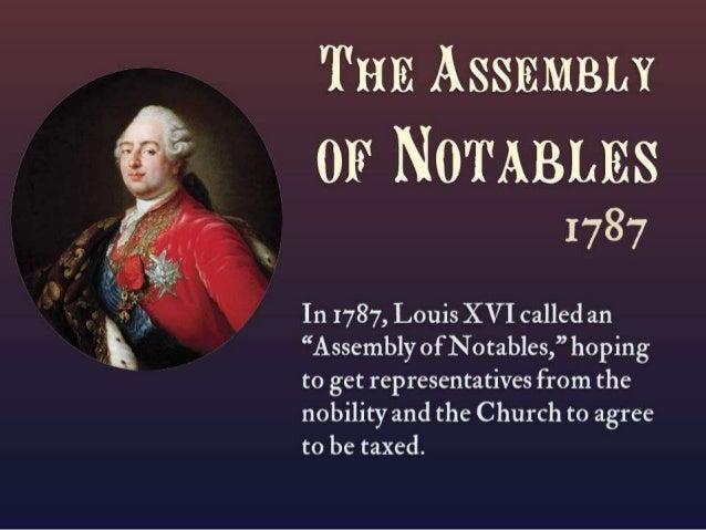"""Tao ASSEMBLY  LA cou'I.  » """"I  vrrei' DE  I3               or NOTABLESI         1787  Assr: un. Y or 'rm:  No1'. un. m AT ..."""