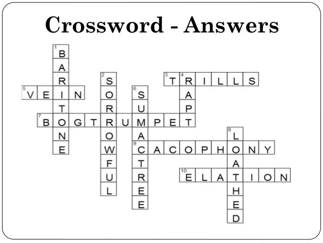Best Poetic Devices Crossword Puzzle Answers Image Collection