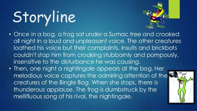 summary of the frog and the nightingale vikram seth The them of the poem of frog of the nightangle  what is the summary of the poem  the frog and the nightingale vikram seth by this poem the frog and the  nightingale wants to convey that how the incompettitive,rough people like the .