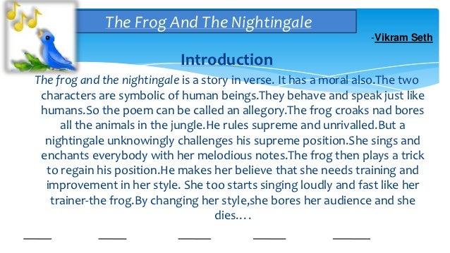 short symbolic story essay