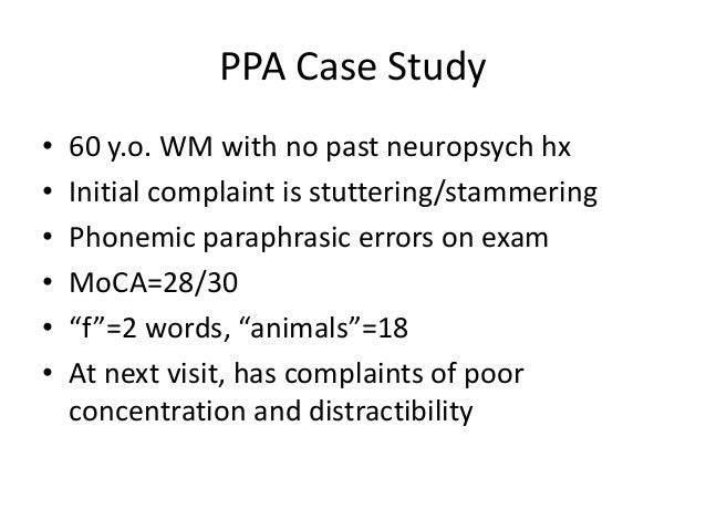 stuttering case study Stuttering and compulsive manipulation of tools after hemorrhage in the anterior corpus callosum and cingulate gyrus: a case study to investigate the relation between callosal stuttering and lesions of the corpus callosum, analysis of earlier studies was performed along with analysis of this patient's stuttering methods:.