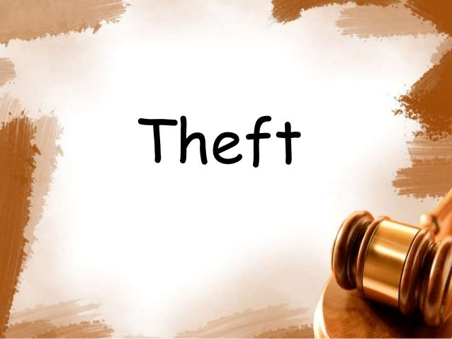 theft ipc notes