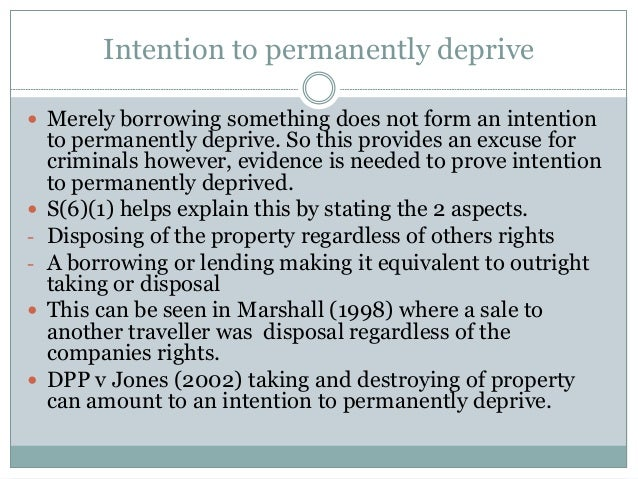 dishonesty and the theft act It is a test that the jury have to apply in criminal trials where dishonesty is an element of the offence, that the prosecution have to prove the theft act (1968) doesn't set out a definition of dishonesty.