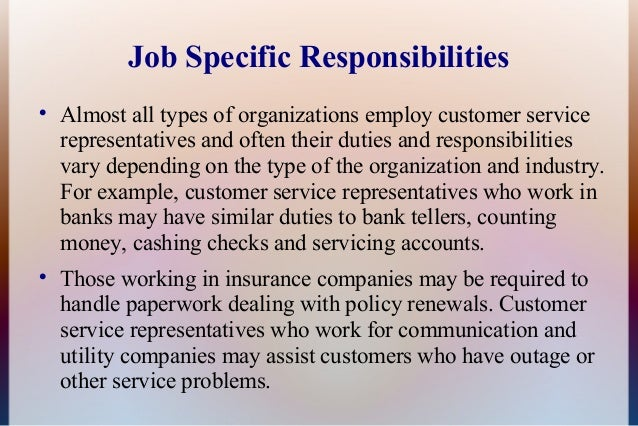customer service representative qualifications