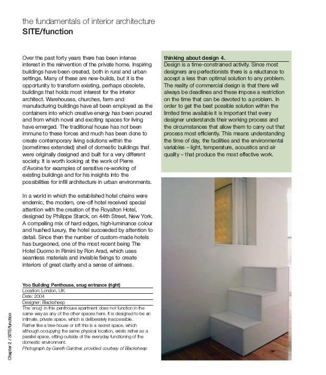 The fundamentals of interior architecture book - Fundamentals of interior design ...